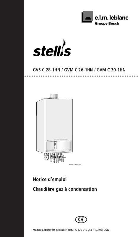 Notice D Utilisation Elm Leblanc Stellis Gvs C 28 1hn Elm Leblanc Manuel Et Mode D Emploi