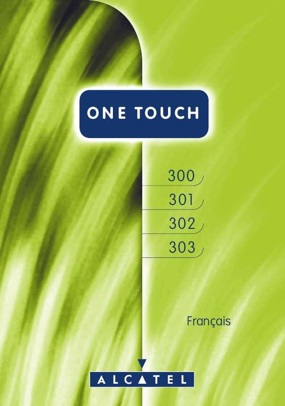 Guide utilisation ALCATEL-LUCENT ALCATEL ONE TOUCH 300  de la marque ALCATEL-LUCENT