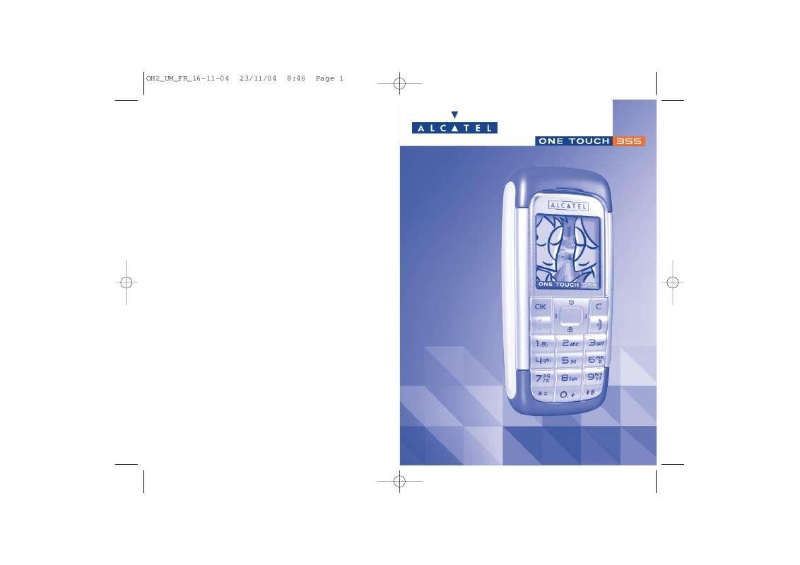 Guide utilisation ALCATEL-LUCENT OT-355  de la marque ALCATEL-LUCENT