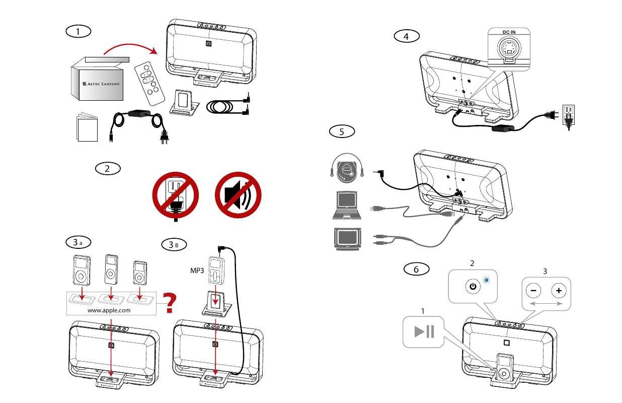 Guide utilisation  ALTEC LANSING M602BLK  de la marque ALTEC LANSING
