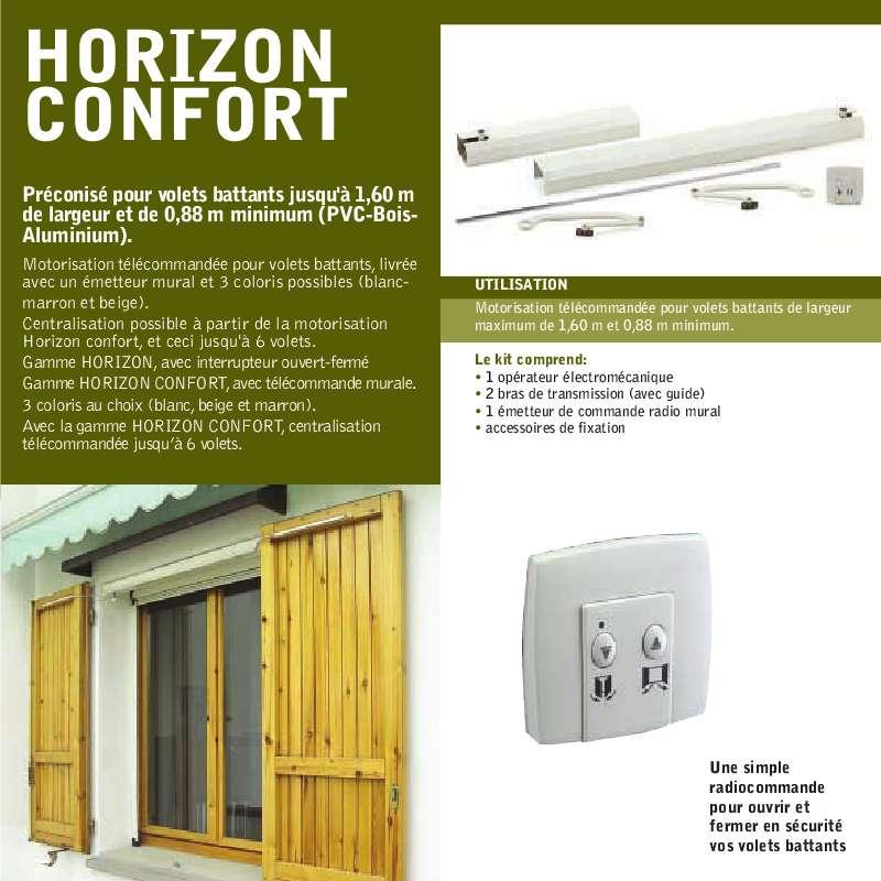 Guide utilisation  ADYX HORIZON CONFORT  de la marque ADYX