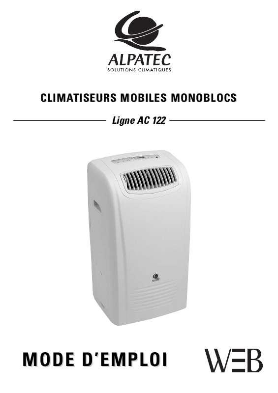 Guide utilisation ALPATEC AC 122  de la marque ALPATEC