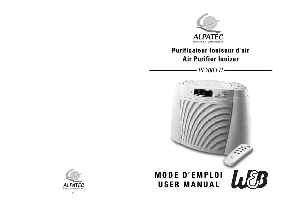 Guide utilisation ALPATEC PI 200 EH  de la marque ALPATEC