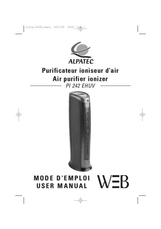 Guide utilisation ALPATEC PI 242 EHUV  de la marque ALPATEC