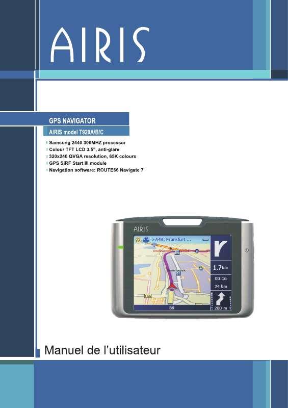 Guide utilisation  AIRIS T920A  de la marque AIRIS