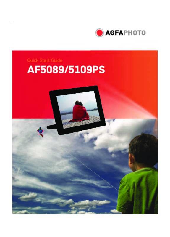 Guide utilisation AGFAPHOTO AF 5089 MS  de la marque AGFAPHOTO