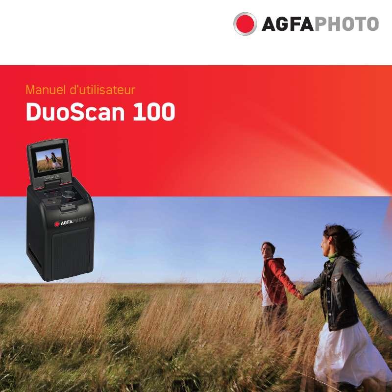 Guide utilisation AGFAPHOTO DUOSCAN 100  de la marque AGFAPHOTO