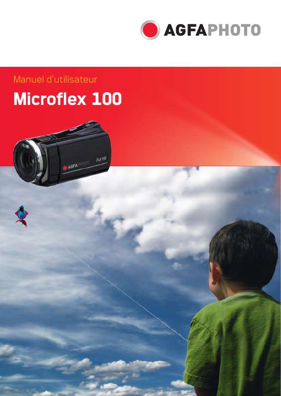 Guide utilisation  AGFAPHOTO MICROFLEX 100  de la marque AGFAPHOTO