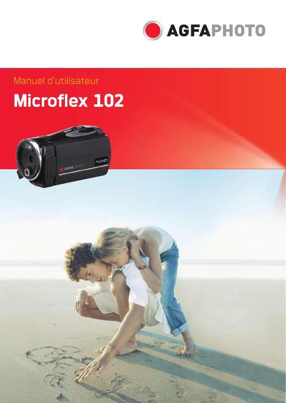 Guide utilisation  AGFAPHOTO MICROFLEX 102  de la marque AGFAPHOTO