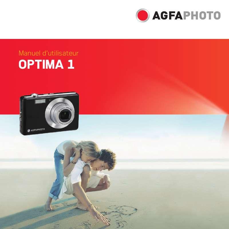 Guide utilisation  AGFAPHOTO OPTIMA 1  de la marque AGFAPHOTO