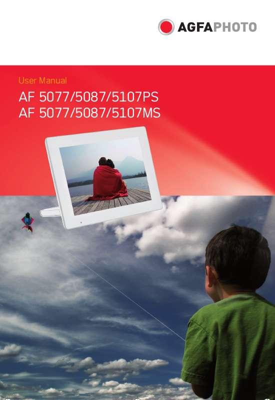 Guide utilisation  AGFAPHOTO AF 5087  de la marque AGFAPHOTO
