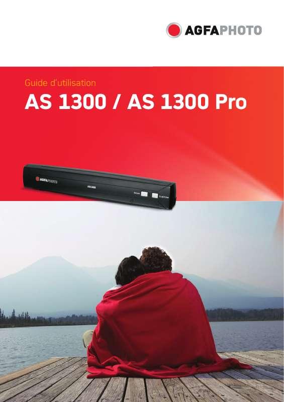 Guide utilisation AGFAPHOTO AS 1300 PRO  de la marque AGFAPHOTO