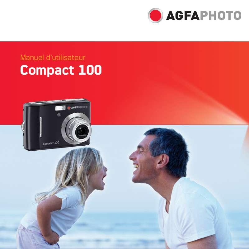 Guide utilisation  AGFAPHOTO COMPACT 100  de la marque AGFAPHOTO