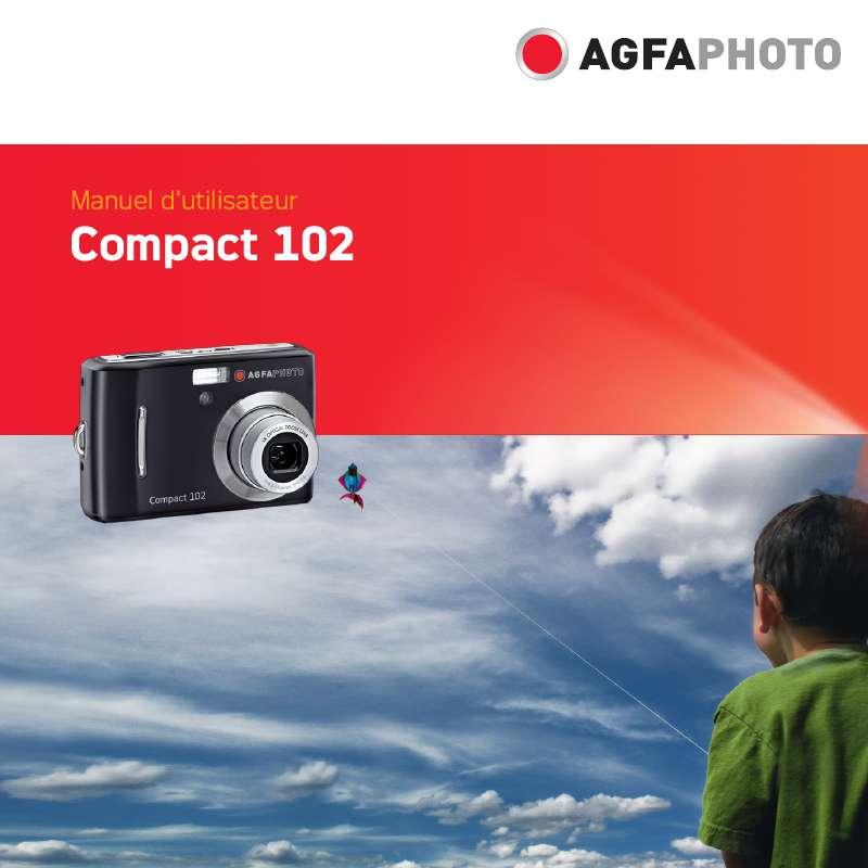 Guide utilisation  AGFAPHOTO COMPACT 102  de la marque AGFAPHOTO