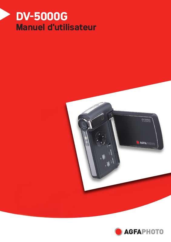 Guide utilisation AGFAPHOTO DV-5000G  de la marque AGFAPHOTO