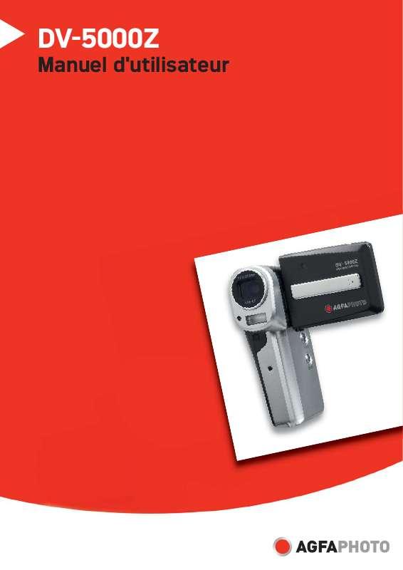 Guide utilisation AGFAPHOTO DV-5000Z  de la marque AGFAPHOTO