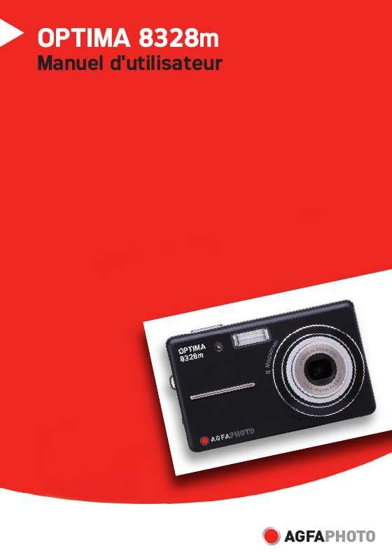 Guide utilisation  AGFAPHOTO OPTIMA 8328M  de la marque AGFAPHOTO