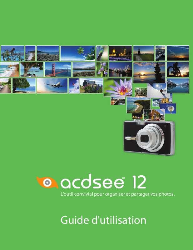 Guide utilisation  ACDSEE ACDSEE 12  de la marque ACDSEE