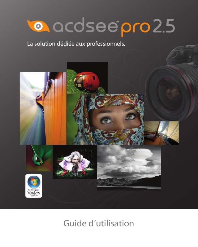 Guide utilisation  ACDSEE ACDSEE PRO 2.5  de la marque ACDSEE