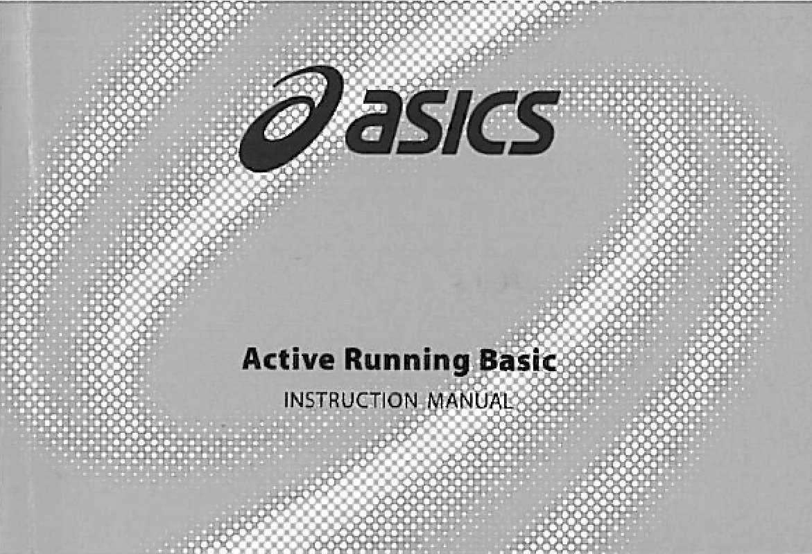 Guide utilisation  ASICS QA4349004  de la marque ASICS
