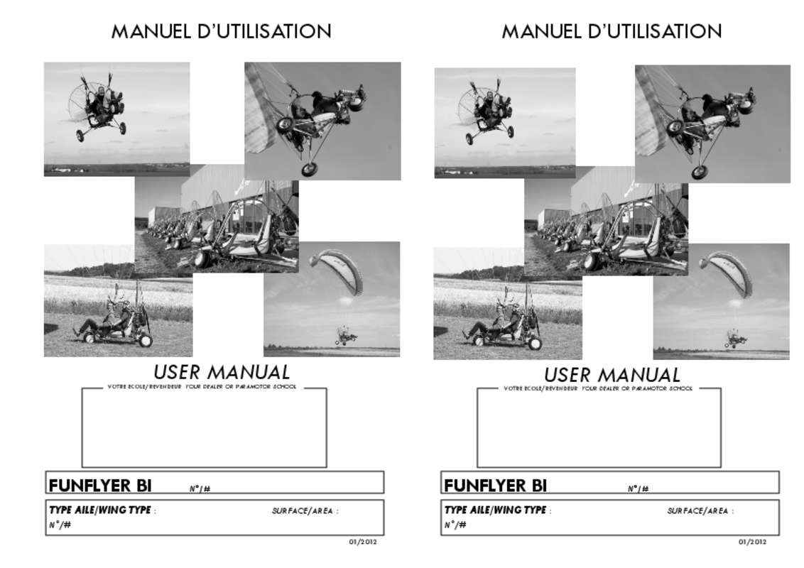 Guide utilisation  ADVENTURE FUNFLYER BI  de la marque ADVENTURE
