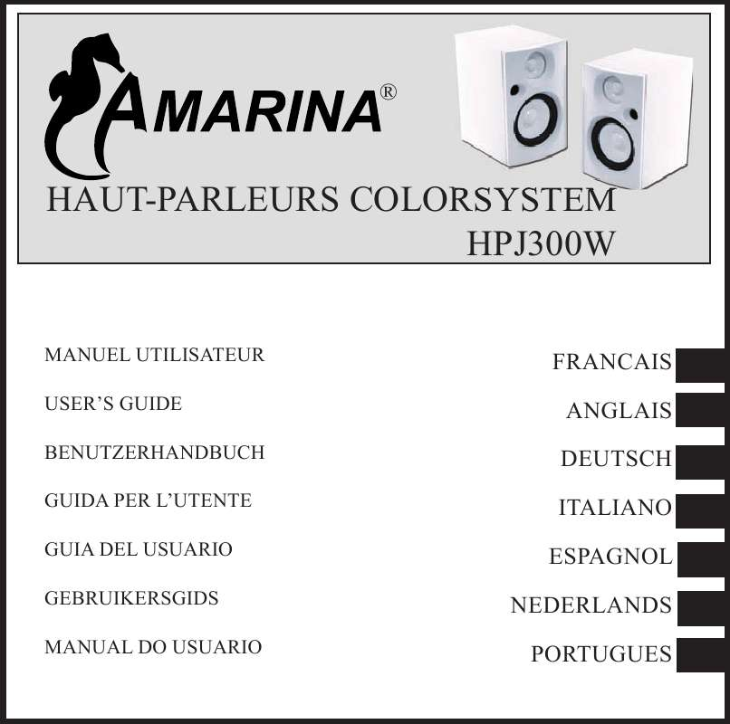 Guide utilisation  AMARINA HPJ300W JACK BLANC  de la marque AMARINA