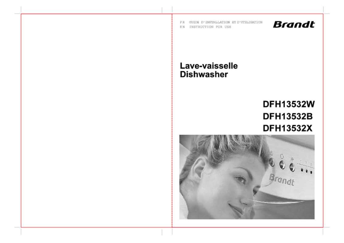 Guide utilisation BRANDT DFH13117X de la marque BRANDT