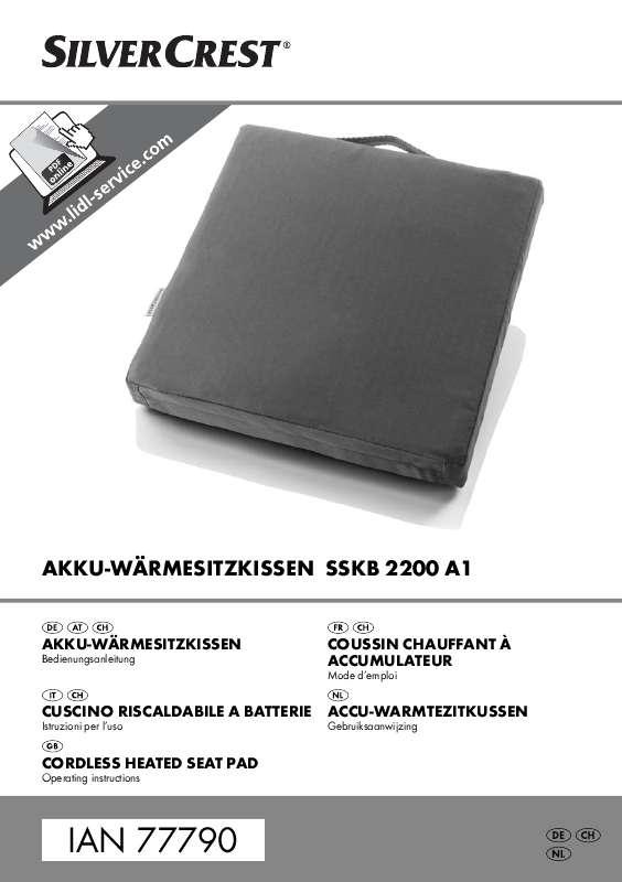 Guide utilisation  SILVERCREST SSKB 2200 A1  de la marque SILVERCREST