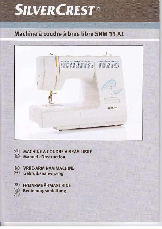 Guide utilisation SILVERCREST SNM 33 A1  de la marque SILVERCREST